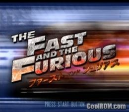 Fast and the Furious, The ROM (ISO) Download for Sony Playstation 2
