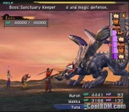 Final Fantasy X ROM (ISO) Download for Sony Playstation 2 / PS2