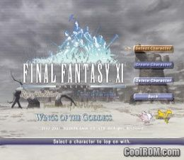 Final Fantasy XI - Wings of the Goddess ROM (ISO) Download