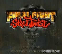 Final Fight - Streetwise ROM (ISO) Download for Sony Playstation 2