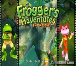 Frogger S Adventures The Rescue Rom Iso Download For
