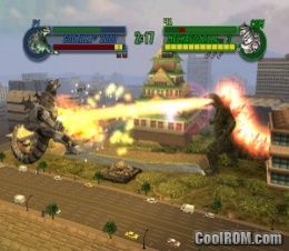Godzilla - Save the Earth ROM (ISO) Download for Sony