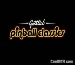 Gottlieb Pinball Classics (Europe) (En,Fr,De,Es,It) ROM (ISO