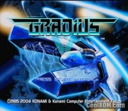 Gradius V ROM (ISO) Download for Sony Playstation 2 / PS2 - CoolROM com
