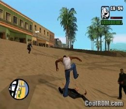 Grand Theft Auto - San Andreas (Bonus) ROM (ISO) Download