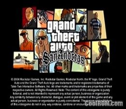 game gta san andreas ppsspp iso