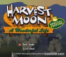 Harvest Moon A Wonderful Life Special Edition ROM (ISO