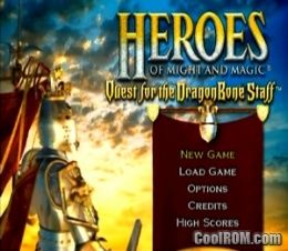 Heroes of Might and Magic - Quest for the DragonBone Staff ROM (ISO