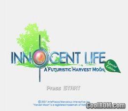 Innocent life a futuristic harvest moon iso