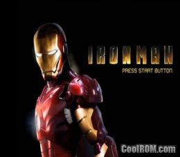 Iron Man ROM (ISO) Download for Sony Playstation 2 / PS2