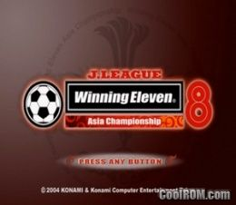J  League Winning Eleven 8 - Asia Championship (Japan) ROM
