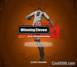 J  League Winning Eleven 9 - Asia Championship (Japan) ROM