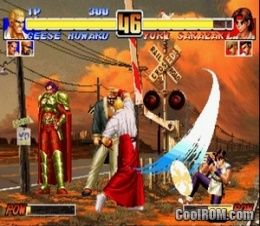 king of fighters psp