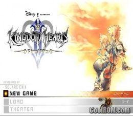 kingdom hearts 1.5 + 2.5 remix iso