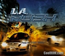 L.A. Rush ROM (ISO) Download for Sony Playstation 2 / PS2 - CoolROM.com