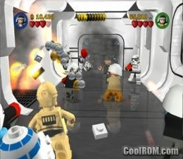 Lego Star Wars Ii The Original Trilogy Rom Iso Download For Sony Playstation 2 Ps2 Coolrom Com