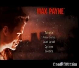 Max Payne ROM (ISO) Download for Sony Playstation 2 / PS2