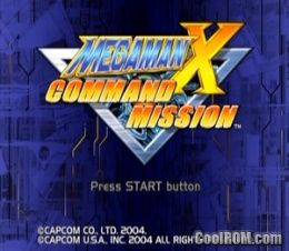 Mega Man X - Command Mission ROM (ISO) Download for Sony Playstation