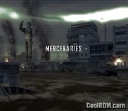 Mercenaries playground of destruction ps2