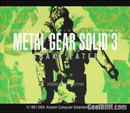 Download metal gear solid 3 ps2