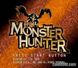 Monster Hunter (Europe) (En,Fr,De,Es,It) ROM (ISO) Download