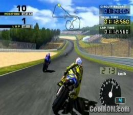 Moto Gp 2 Rom Iso Download For Sony Playstation 2 Ps2 Coolrom Com