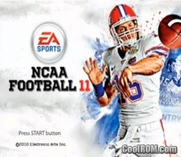 NCAA Football '11 ROM (ISO) Download for Sony Playstation 2