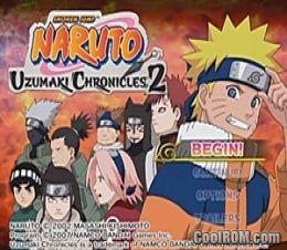 87a4de8495b Naruto - Uzumaki Chronicles 2 ROM (ISO) Download for Sony ...