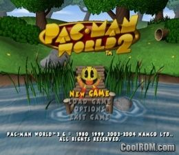 Pac-Man World 2 (v1 00) ROM (ISO) Download for Sony Playstation 2