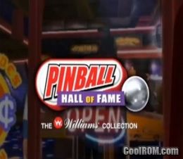 Pinball Hall of Fame - The Williams Collection ROM (ISO
