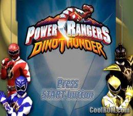 Power Rangers - Dino Thunder ROM (ISO) Download for Sony