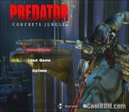 Predator - Concrete Jungle ROM (ISO) Download for Sony Playstation 2
