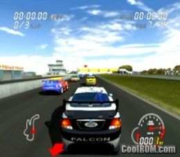 Pro Race Driver ROM (ISO) Download for Sony Playstation 2 / PS2