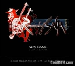 Romancing SaGa ROM (ISO) Download for Sony Playstation 2 / PS2