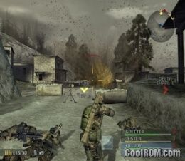 SOCOM - U S  Navy SEALs - Combined Assault (Demo) ROM (ISO