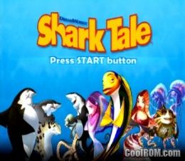 Shark Tale ROM (ISO) Download for Sony Playstation 2 / PS2