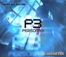 Shin Megami Tensei - Persona 3 FES ROM (ISO) Download for