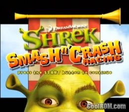 Shrek Smash and Crash ROM (ISO) Download for Sony Playstation 2