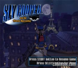 Sly Cooper and the Thievius Raccoonus ROM (ISO) Download for