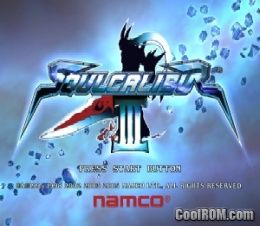 Soulcalibur III ROM (ISO) Download for Sony Playstation 2 / PS2