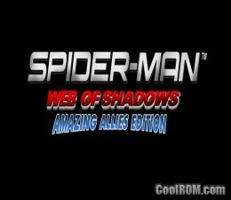 Spider-Man - Web of Shadows ROM (ISO) Download for Sony