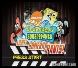SpongeBob SquarePants - Lights, Camera, PANTS! ROM (ISO