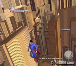 Superman Returns - The Video Game ROM (ISO) Download for Sony