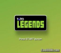 taito legends 2 iso