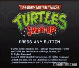 teenage mutant ninja turtles iso ps2
