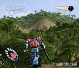 Transformers ROM (ISO) Download for Sony Playstation 2 / PS2