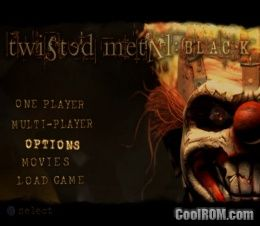 twisted metal black rom iso download for sony playstation 2