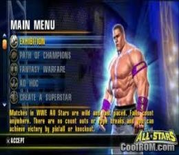WWE All-Stars ROM (ISO) Download for Sony Playstation 2