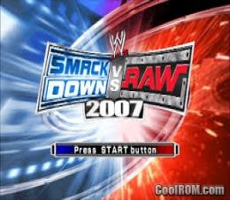 Wwe smackdown vs. Raw 2007 rom (iso) download for sony playstation.
