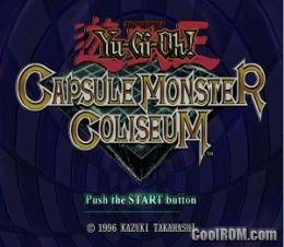 yu gi oh monster capsule coliseum